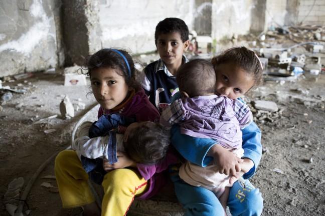 Anak-anak korban konflik Suriah (dok. oxfam/Sam Tarling)