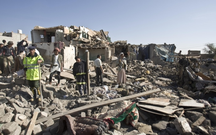 Rumah-rumah hancur akibat perang di Yaman (dok. oxfam america.org)