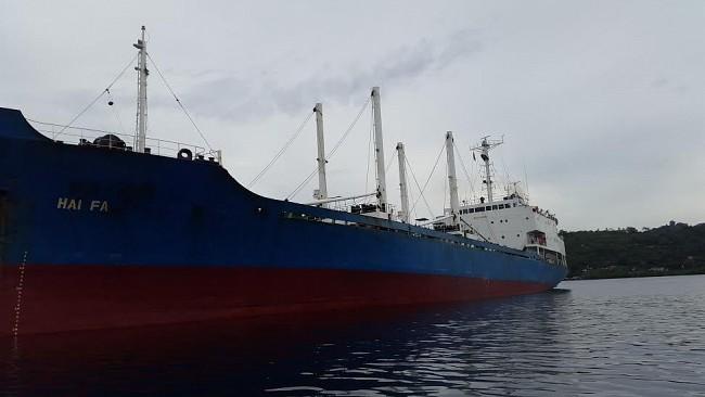 Kapal MV Hai Fa (dok. setkab go.id)