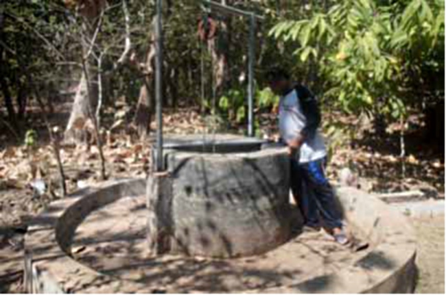 Sumur Adaptif yang dibangun masyarakat dusun Wello dalam menghadapi bencana banjir (dok. oxfam)