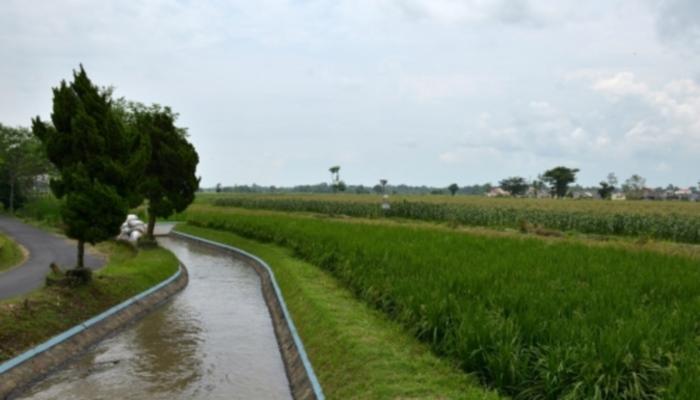 Infrastruktur desa berupa saluran irigasi. Dana desa diharapkan mampu perbaiki infrastruktur desa (dok. kemenkeu.go.id)