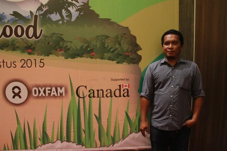 Tua Hasiholan, Program Manager Restoring Coastal Livelihood Oxfam (dok. oxfam/Irwan Firdaus)