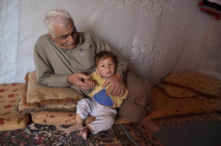 Keluarga pengungsi Suriah (dok. oxfam.org)
