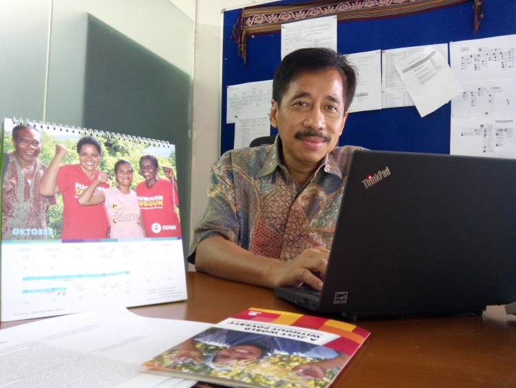 Budi Kuncoro sang nakhoda baru Oxfam (dok. Villagerspost.com)