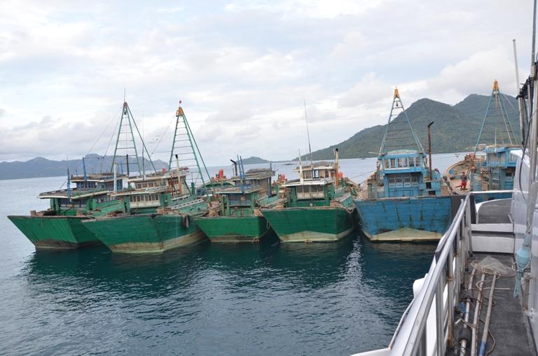 Kapal ilegal Vietnam yang ditangkap aparat KKP (dok. kkp.go.id)