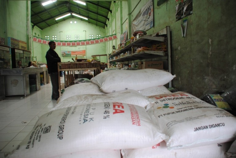 Pupuk subsidi untuk petani (dok. purbalinggakab.go.id)