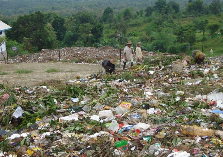 Tempat Pembuangan Sampah Desa di Sumenep, Madura. Dana Desa bisa digunakan untuk membangun TPS (dok. sumenepkab.go.id)