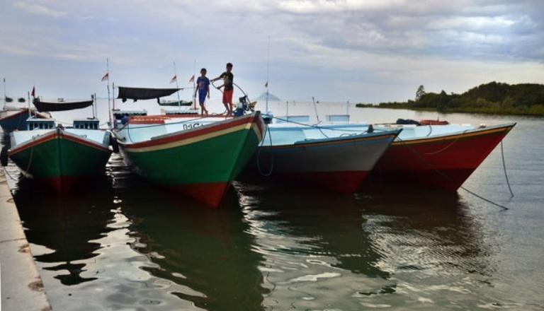 Armada kapal nelayan tradisional. Pemerintah mulai realisasikan program pengadaan 4000 kapal nelayan (dok. kkp.go.id)