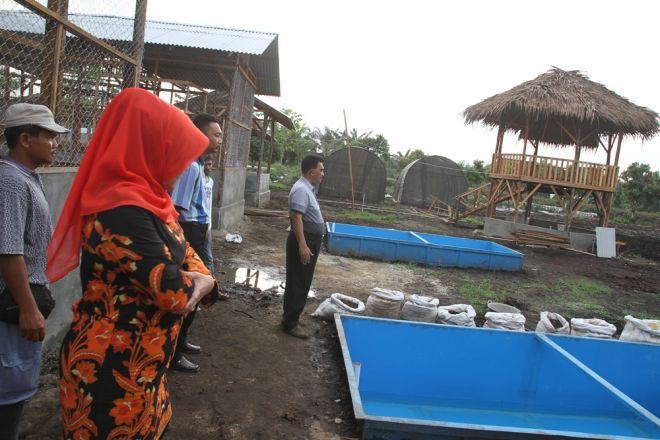 Budidaya perikanan di kabupaten Kampar, Riau (dok. kamparkab.go.id)
