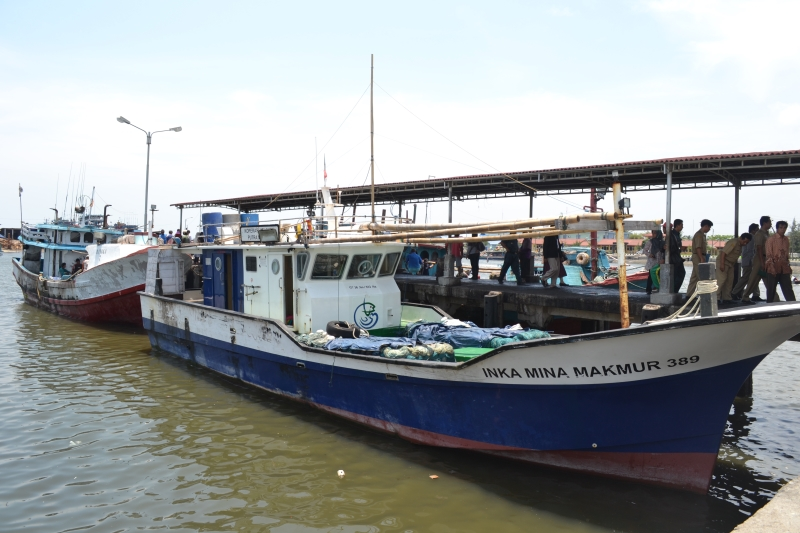 Armada kapal tangkap ikan milik nelayan (dok. djpt.kkp.go.id)