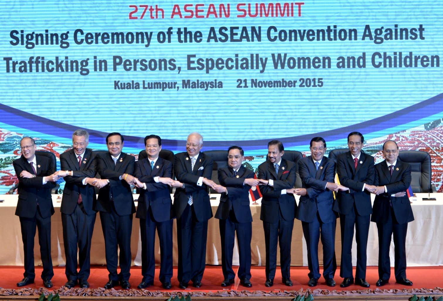 Presiden Joko Widodo di acara Konferensi Tingkat Tinggi ASEAN (dok. setkab.go.id)
