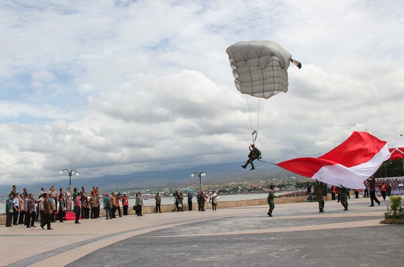 Kemeriahan peringatan Hari Nusantara 2013 di Sulawesi Tengah (dok. sulteng.kemenag.go.id)