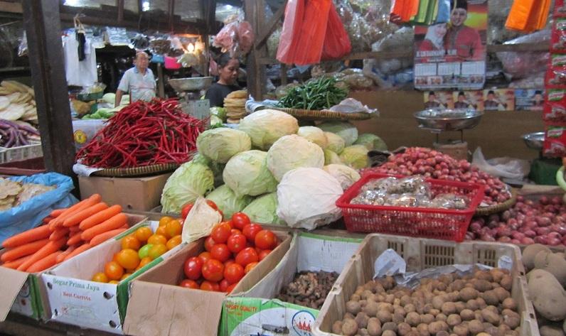 Bahan kebutuhan pokok di pasar tradisional (dok. hargasumut.org)