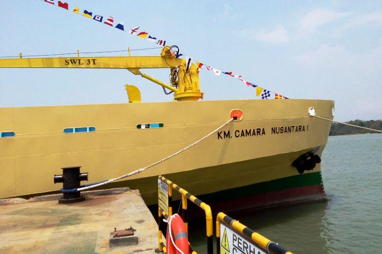 Kapal ternak KM Camara Nusantara I. Mentan jamin, kapal ternak tak pulang dengan tangan hampa (dok. kps.go.id)