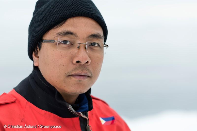 Yeb Saño, Direktur Eksekutif Greenpeace Asia Tenggara yang baru (dok. greenpeace)