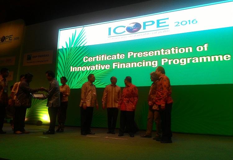 Acara pertemuan tahunan ICOPE di Nusa Dua Bali (dok. sawitindonesia.com)