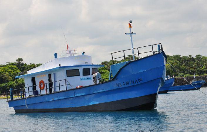 Kapal perikanan inkamina untuk nelayan (dok. djpt.kkp.go.id)