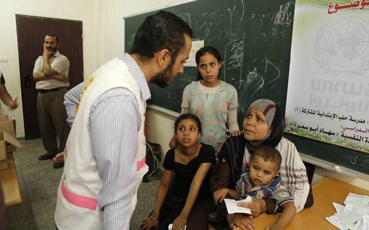 Layanan kesehatan di wilayah konflik di Gaza (dok. oxfamamerica.org)