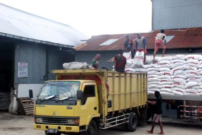 Distribusi pupuk bersubsidi oleh pemerintah (dok. bojonegorokab.go.id)