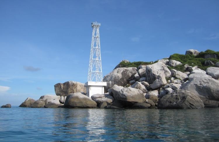 Salah satu pulau di gugusan kepulauan Anambas, salah satu wilayah terluar RI (dok. kkp.go.id)