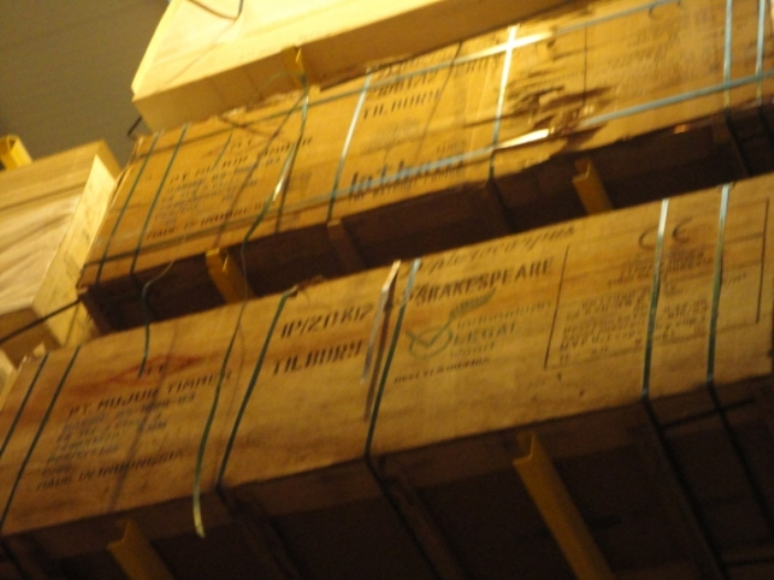 Kayu tersertifikasi untuk ekspor ke Eropa (dok. kemendag.go.id)