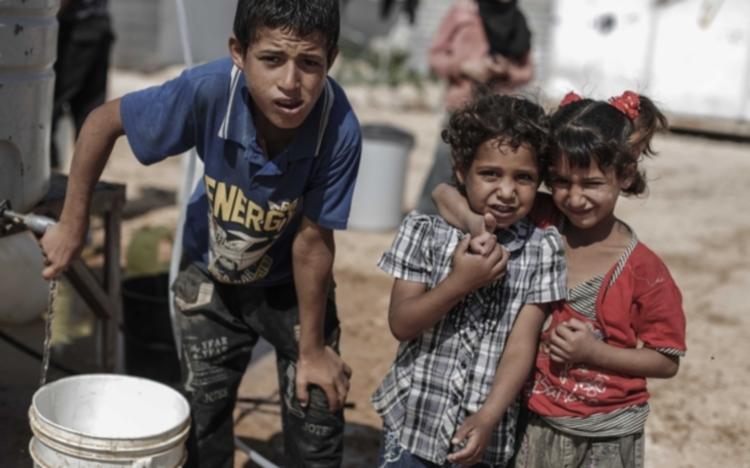 Anak-anak pengungsi Suriah di kamp pengungsian (dok. oxfam america)