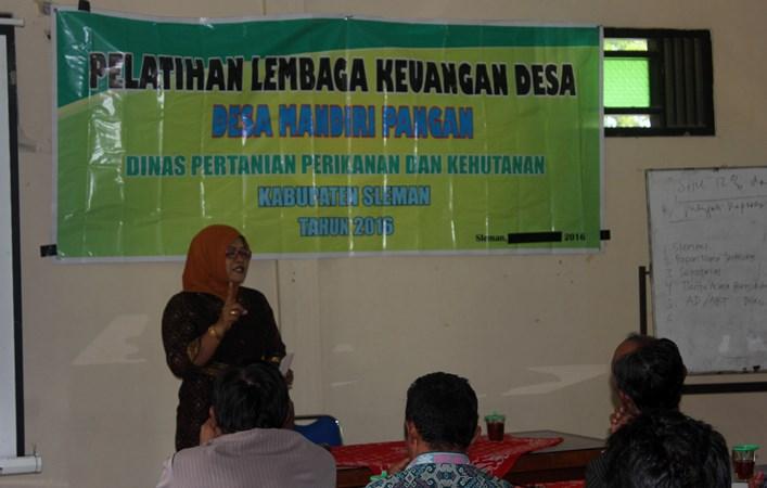 Pelatihan bagi masyarakat desa. Kemendesa PDTT gandeng universitas wujudkan desa mandiri (dok. slemankab.go.id)