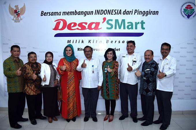 Acara peluncuran Desa'SMart di Kabupaten Karawang (dok. kemendesa pdtt)