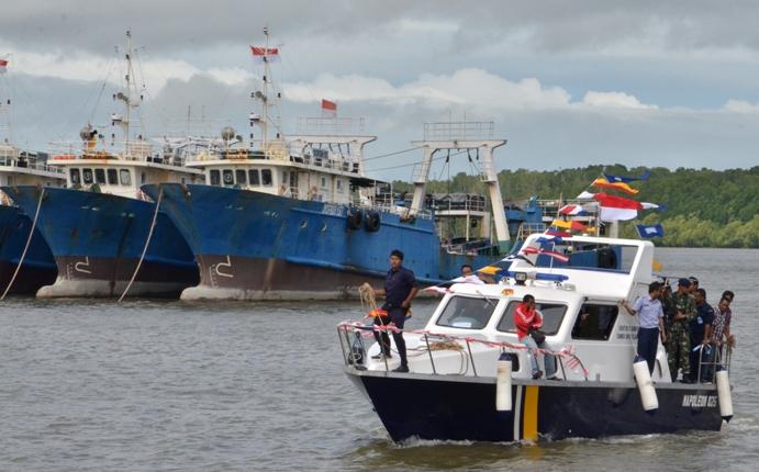 Armada kapal perikanan tangkap. (dok. pusluh.kkp.go.id)