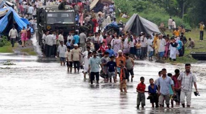 Bencana banjir di Asia akibat perubahan cuaca ekstrem (dok. oxfam)