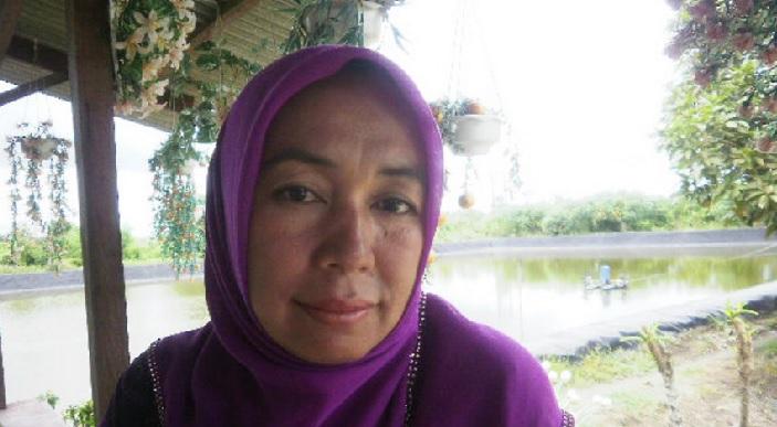 Erna Leka, memperjuangkan aspirasi perempuan petambak di Bumi Dipasena (dok. kiara)