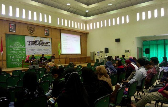 Acara roadshow petani muda di Yogyakarta (dok. villagerspost.com/said abdullah)