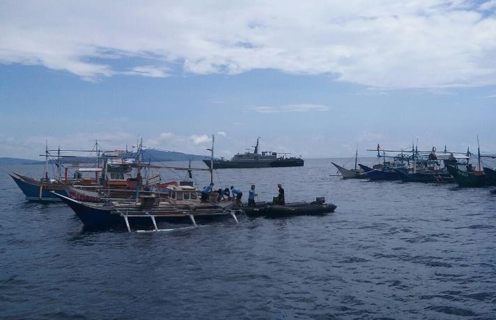 Kapal ikan asing ditangkap aparat KKP (dok. kementerian kelautan dan perikanan)