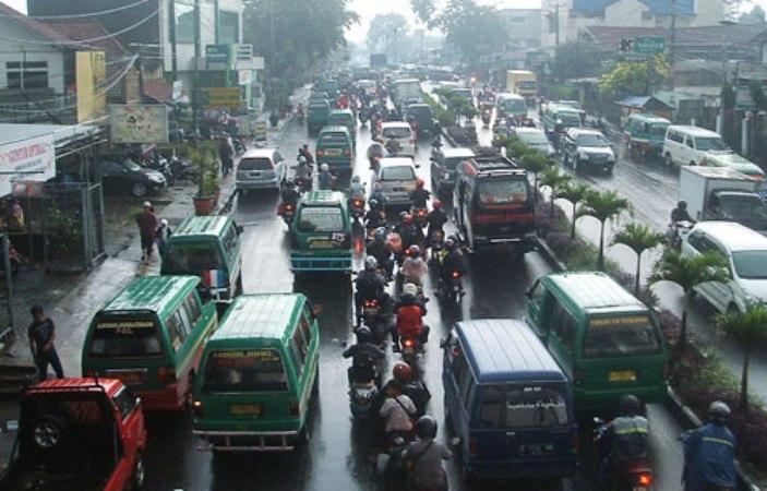 Kemacetan lalu lintas, memboroskan energi (dok. pemprov jabar)