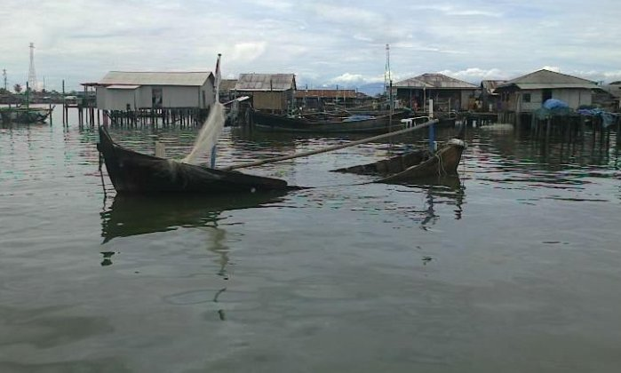 Perkampungan nelayan tradisional (dok. change.org)