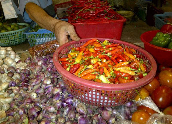 Buruknya distribusi menjadi penyebab melonjaknya harga cabai rawit merah hingga 300 persen (dok. pemkot depok)