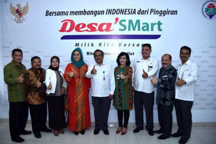 Peresmian Desa 'Smart di Tangerang Selatan (dok. kemendesa pdtt)