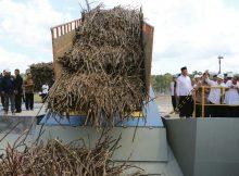 Penggilingan tebu di pabrik gula Glenmore, Banyuwangi (dok. kabupaten banyuwangi)