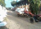 Petani mengangkut hasil panen dengan traktor (dok. villagerspost.com/suharjo)