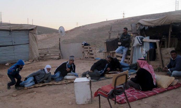 Masyarakat Badui Palestina di kawasan Tepi Barat (dok. jahalin.org)