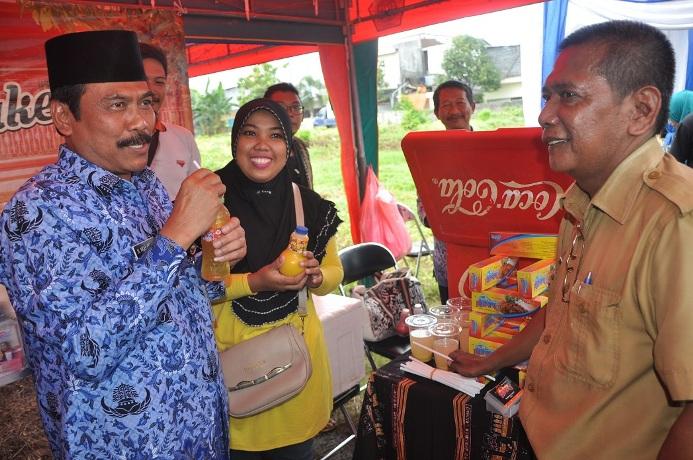 Pameran produk unggulan desa di Kabupaten Gresik, Jawa Timur (dok. pemkab gresik)