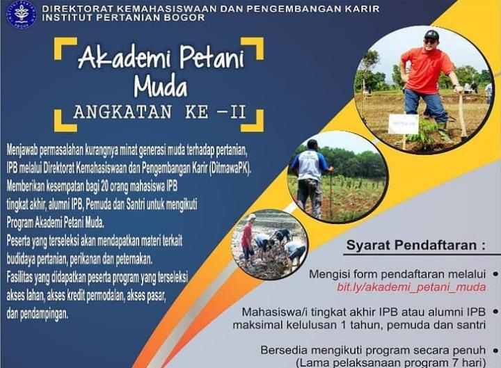 Ipb Gelar Akademi Petani Muda Villagerspostcom